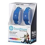 Soundmoovz-41239 SoundMoovz Set de 2 pulseras Muzic By Mooving para crear y componer sonidos y música, color azul, 11,5 x 6,8 x 18,1 (Fábrica de Juguetes 41239)