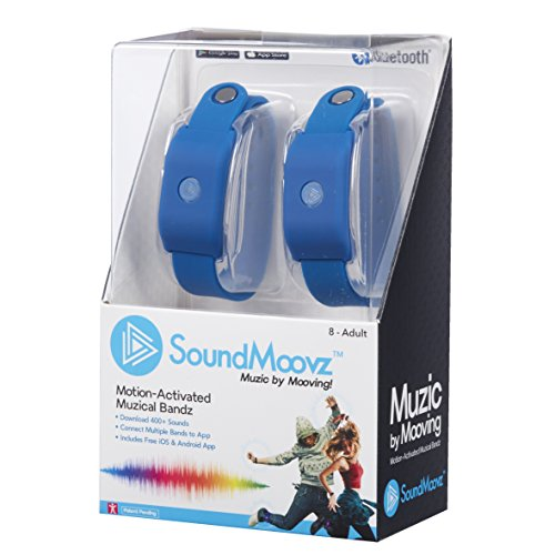 Soundmoovz-41239 SoundMoovz Set de 2 pulseras Muzic By Moovi