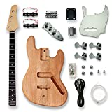BexGears DIY Electric Guitar Kits For JASS Style bass Guitar.Okoume Body