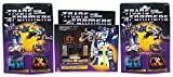 soundwave Transformers G1 Reissue Bundle with Additional Decepticon Tapes- Frenzy, Laserbeak, Ravage and Rumble.