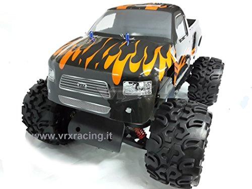 VRX Monster Truck Blaze 1/5 off-Road con Motore a Scoppio 30cc Radio 2.4Ghz 2WD RTR RH502MT