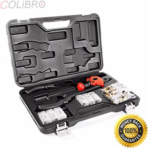 COLIBROX--Rivet Gun Kit Rivnut Thread Setting Tools Nut Setter NutSert Metal Working Tool. rivet nut setter tool. impact nut setter. best nutsetter tools on amazon. rivet nut tool harbor freight.