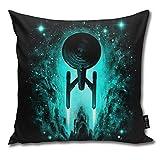 IUBBKI Voyages-in-Space Throw Pillow Covers 18 X 18 Pulgadas X 45 X 45cm COU para Sofá Cama Casa de Campo Navidad Decoración para el hogar