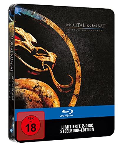 Mortal Kombat 1 & 2 Film Collection Limited Steelbook [Blu-ray]