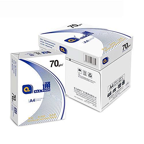 A4-Papier 8 Verpackung Qualität A4 Kopierpapier 70g Alle Zellstoff Druckpapier Büropapier Business Copy Papier säurefreiem Papier A4 drucken Kopierpapier Office-Drucker Papier
