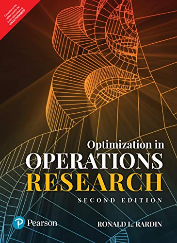 Compare Textbook Prices for Optimization In Operations Research  ISBN 9789353066369 by Ronald L. Rardin