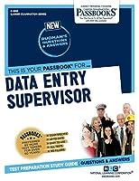Data Entry Supervisor (Career Examination)