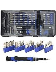 Fdit 56 i 1 multifunktionell skruvmejseluppsättning elektronisk reparationsverktyg skruvmejselbits precision skruvmejseluppsättning för reparation av mobiltelefoner
