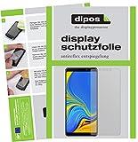 dipos I 2X Schutzfolie matt kompatibel mit Samsung Galaxy A9 (2018) Folie Bildschirmschutzfolie