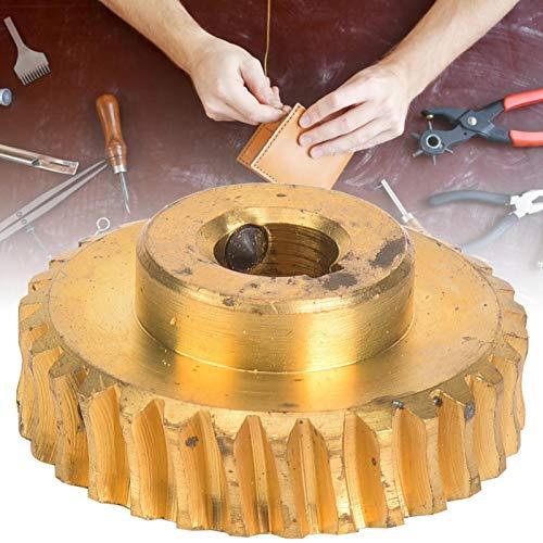 SALUTUYA Engranaje de Cobre de la peladora portátil para el Engranaje de 30 Dientes de la máquina de pelado 747