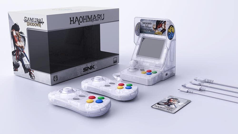 Neo Max 86% OFF Geo Mesa Mall Mini Samurai Shodown Limited El Bundle-Haohmaru Edition