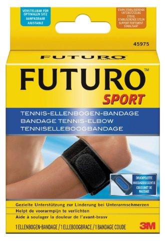 FUTURO FUT45975 Sport Ellenbogen-Bandage, beidseitig tragbar, Einheitsgröße