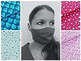 Mund- und Nasenmaske/Community-Maske - Für KINDER/JUGENDLICHE - handgenäht