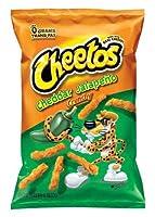 226,8 g / 8 oz Sachet de jalapeño cheddar CHEETOS au goût de fromage Goût doux et chaud de Cheetos pour les fêtes et les soirées cinéma Grand sac idéal pour partager avec des amis Importation des États-Unis - sans gluten