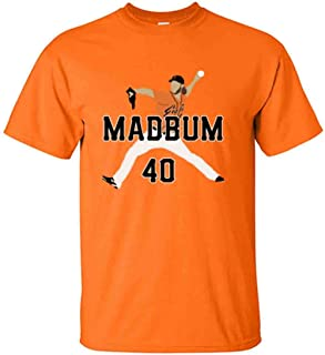 The Silo Orange Madison Bumgarner MAD Bum PIC T-Shirt