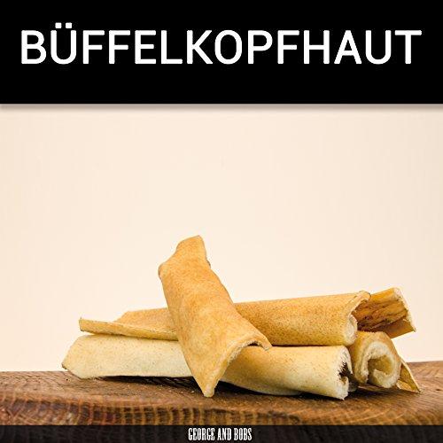 Kopfhaut v. Büffel - 1000g - von George & Bobs -Büffelkopfhaut *Rinderkopfhaut*