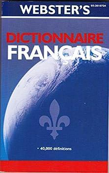 Paperback Webster's Dictionnaire français [French] Book