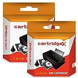 Cartridgex 2 x Negro Remanufacturado Cartucho de Tinta Reemplazo para HP 45 Olivetti JobJet P200 51645AE