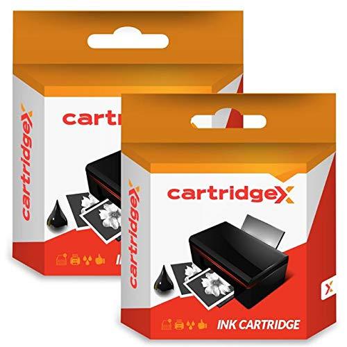 Cartridgex 2 x zwart compatibele inktcartridge vervanging voor HP 301XL Envy 5530 4509 e-All-in-One