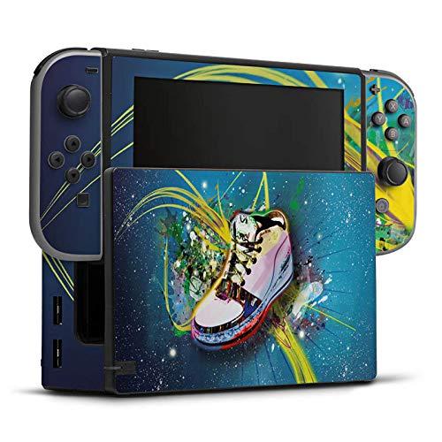 DeinDesign Skin Aufkleber Sticker Folie für Nintendo Switch Shoes Schuhe Sneaker