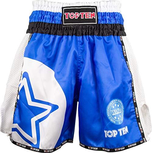 """Kickbox-Shorts TOP Ten """"WAKO Star"""" - blau, Gr. XL"""
