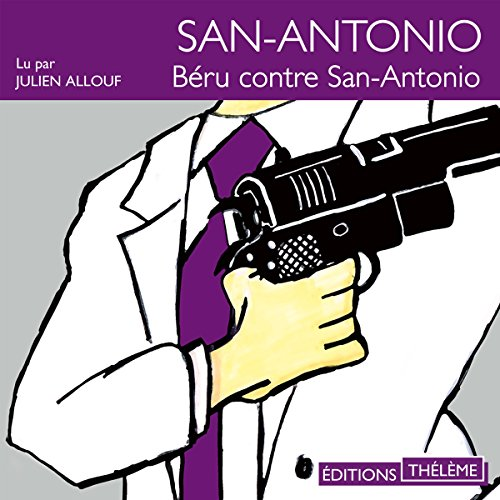Béru contre San-Antonio audiobook cover art
