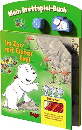HABA 5287 - Mein Spielplanbuch - Im Zoo mit Eisbär Emil