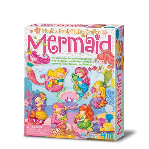 4M FSG3526 Mould and Paint Glitter Mermaid