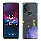 Yoedge Cover Motorola One Action Antiurto Custodia Trasparente con Disegni [The Little Prince]...