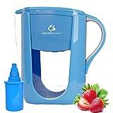 Best Alkaline Water Pitchers - Naples Naturals 108X1 Alkaline Water Filter Pitcher Review