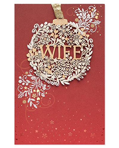 American Greetings Christmas Card for Wife (Amazing Wonderful Wife), 5934119
