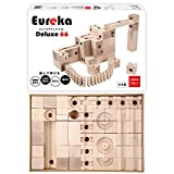 ユリイカ デラックス66 日本製 積み木 ビー玉 転がし スロープトイ 知育玩具 おもちゃ