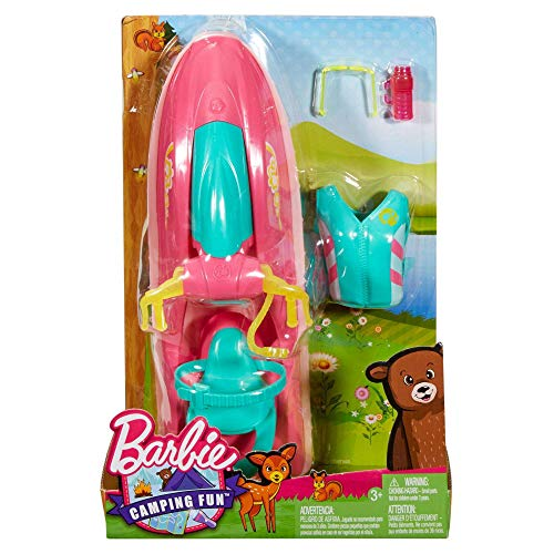 Camping Fun Barbie on The Go Water Craft