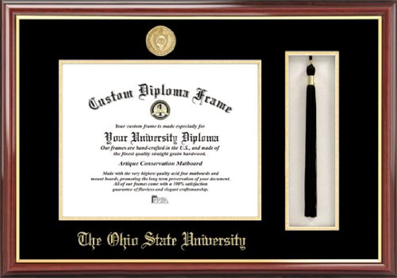 NCAA Ohio State Buckeyes Tassel Box and Diploma Frame