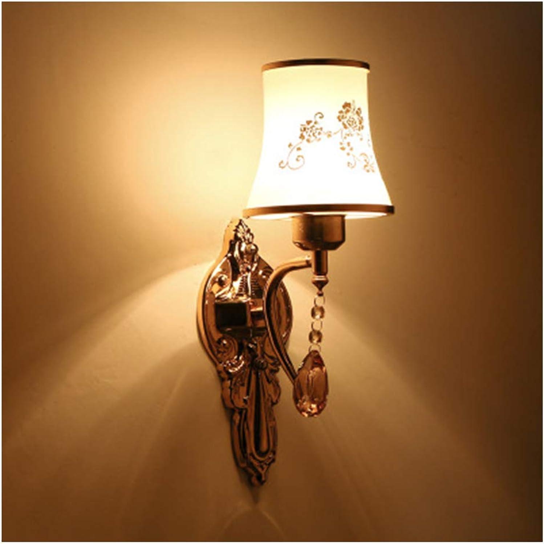 FENPING-wall lamp European Style Modern Wandleuchte Wandlampe- Schlafzimmer Gold Farbe Bett Kopf Gang Eingang Wohnzimmer Leuchte Led Nachtlicht