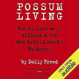 Possum Living audiobook cover art