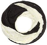 Sandwich Flat Knit Bufanda, Multicolor (hierro), Talla única para Mujer