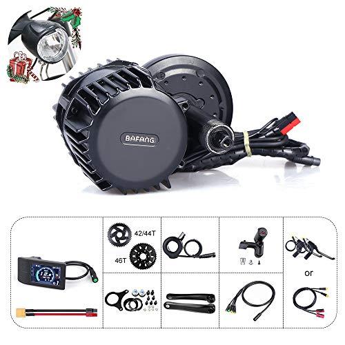 Bafang 8fun BBS03 / BBSHD 48 V 1000 W Mittelmotor Elektrofahrrad Umbausatz Display Kit Ebike ohne Batterie