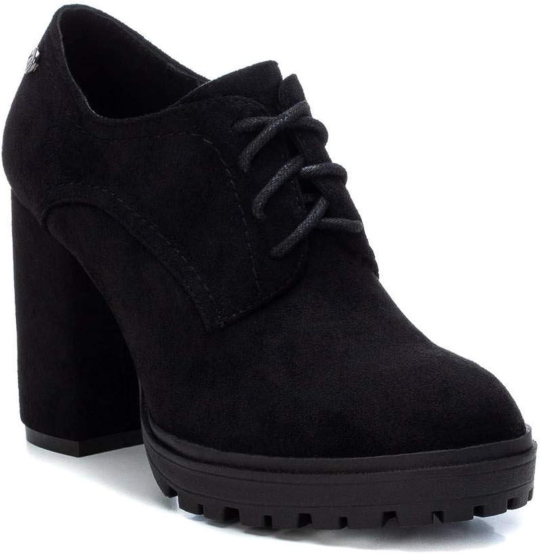 Zapato Oxford con Tac/ón para Mujer Cierre con Cordones XTI