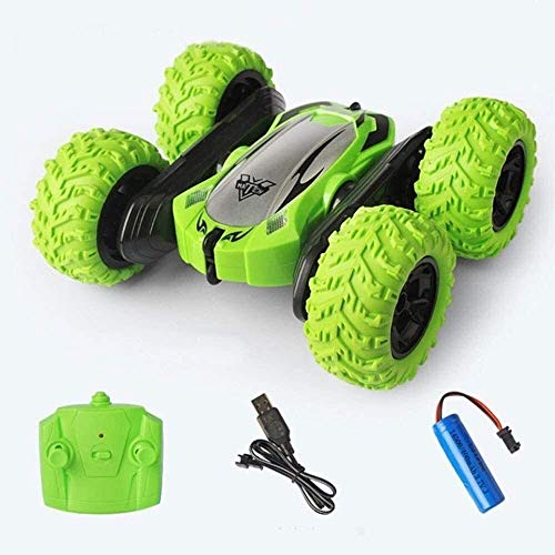 WGFGXQ 4WD RC Car Toys 2.4Ghz Control Remoto Stunt Buggy Vehículos 7KM / H Regalos para niños Niñas Juego Interior al Aire Libre Cumpleaños Navidad