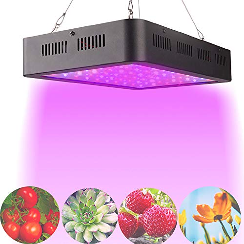 MRSGG 600W Grow lights for indoor plants full spectrum,600w Plant Growing Bulbs,60 PCS led,Grow Lamp,for growing indoor micro greens (especially in winter) in the living room
