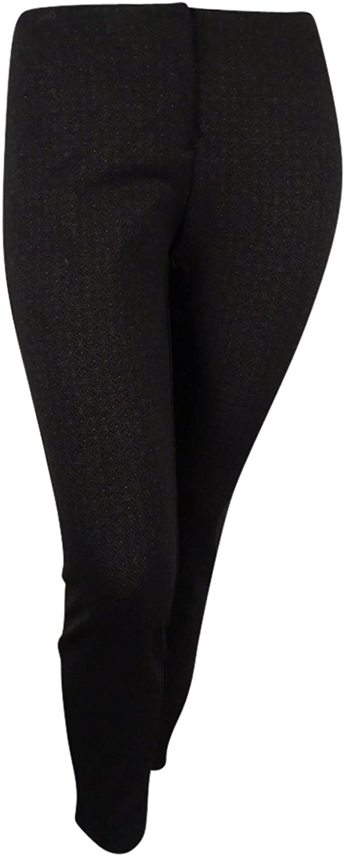 Alfani Petite Printed ComfortWaist Skinny Pants
