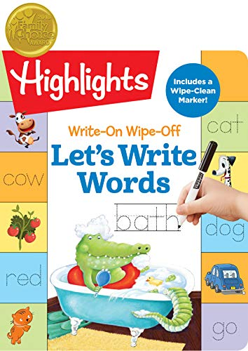 Write-On Wipe-Off Let s Write Words (Highlights Write-On Wipe-Off Fun to Learn Activity Books)