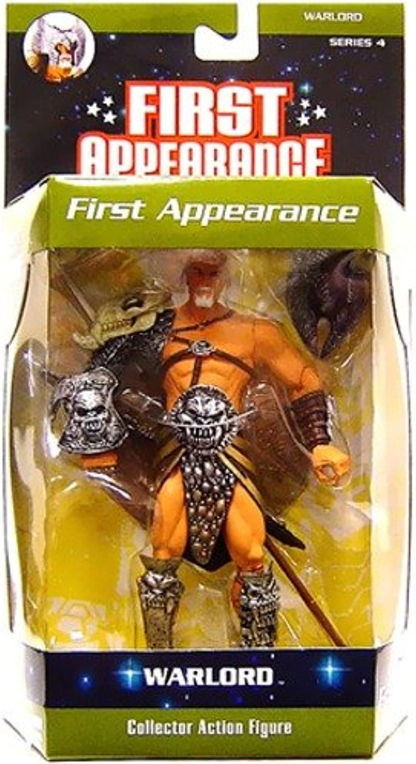First Appearance Series 4  Warlord Action Figure by DC Comics
