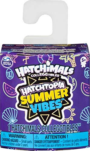 Hatchimals 6054186 CollEGGtibles, Hatchtopia Summer Vibes 1-Pack, para niños de 5 años en adelante (los estilos pueden variar), multicolor , color/modelo surtido