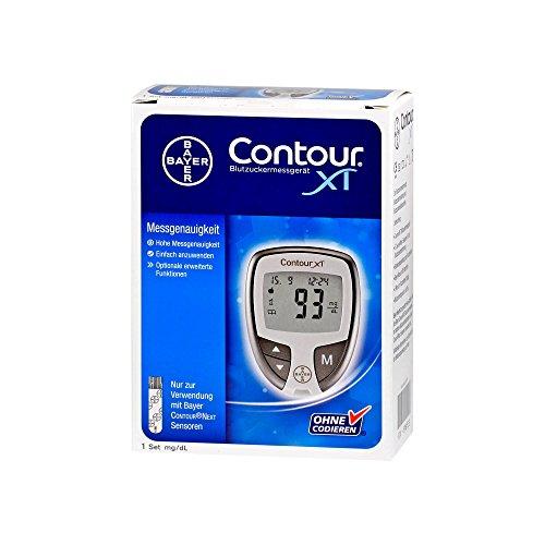 Contour XT Set Blutzuckermessgerät mg/dL, 1 St