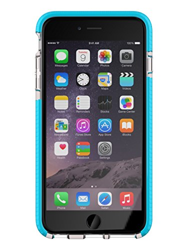 Tech21 Evo Mesh Sport for iPhone 6 Plus - Clear/Blue