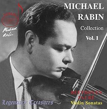 Michael Rabin Vol. 1: Beethoven, Fauré & Paganini