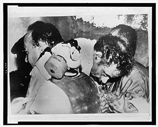 HistoricalFindings Photo: Pedro Albizu Campos,1891-1965,Overcome by Tear Gas