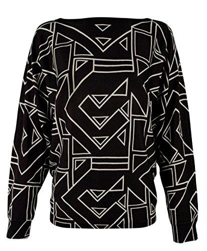 Lauren Ralph Lauren Damen Pullover mit geometrischem Druck, Übergröße - mehrfarbig - 2X